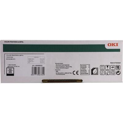 OKI - OKI 46490632 C532 / MC563 / MC573 / C542 Siyah Orjinal Toner