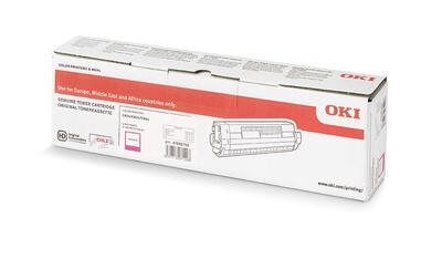 OKI - OKI 47095702 Kırmızı Orjinal Toner - C824DN / C834DNW