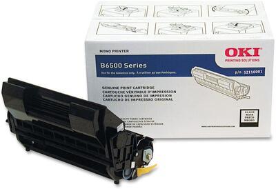 OKI - OKI 52116001 Siyah Orjinal Toner - B6500 / 6500dn / 6500dtn