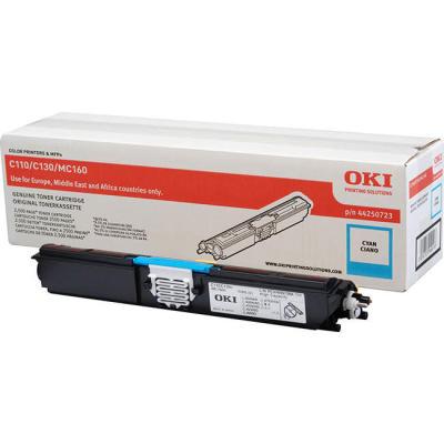 OKI - OKI C110 / C130 / MC160 44250723 MAVİ ORJİNAL TONER