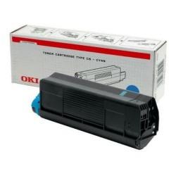 OKI - OKI C5100-C5200-C5300-C5400 42127407 MAVİ ORJİNAL TONER
