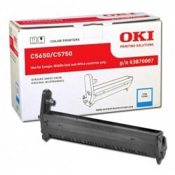 OKI - OKI C5650 / C5750 43870007 MAVİ ORJİNAL DRUM ÜNİTESİ