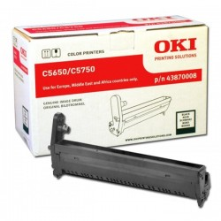 OKI - OKI C5650 / C5750 43870008 SİYAH ORJİNAL DRUM ÜNİTESİ
