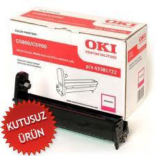 OKI - OKI C5800 / C5900 / C5550 43381722 Kırmızı Drum Ünitesi (U)