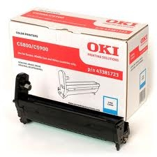 OKI - OKI C5800 / C5900 / C5550 43381723 MAVİ DRUM ÜNİTESİ
