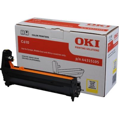 OKI - OKI C610 44315105 SARI ORJİNAL DRUM ÜNİTESİ