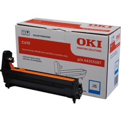 OKI - OKI C610 44315107 MAVİ ORJİNAL DRUM ÜNİTESİ