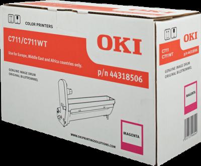 OKI - OKI C711 44318506 Kırmızı Orjinal Drum Ünitesi