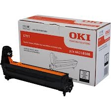 OKI - OKI C711 44318508 ORJİNAL SİYAH DRUM ÜNİTESİ