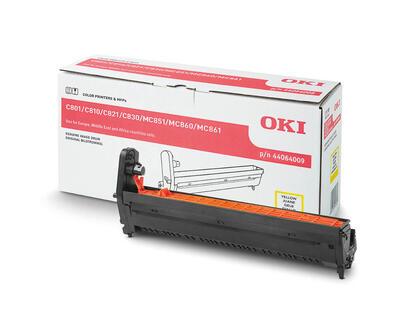 OKI - OKI C801 / C810 / C830 / MC851 / MC860 / MC861 44064009 SARI DRUM ÜNİTESİ