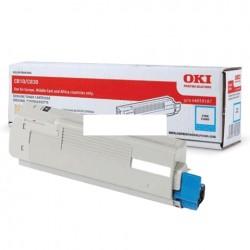 OKI - OKI C810-C830 44059119 MAVİ ORJİNAL TONER