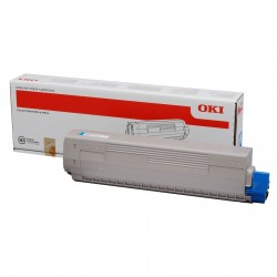 OKI - OKI C831 / C841 44844507 MAVİ ORJİNAL TONER