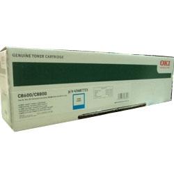 OKI - OKİ C8600-C8800 43487723 MAVİ LAZER TONER