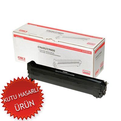 OKI - OKI C9600 / C9800 / C9650 42918106 Kırmızı Orjinal Toner (C)