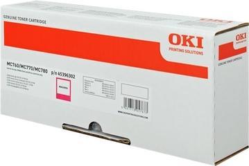 OKI - OKI MC760 / MC770 / MC780 KIRMIZI ORJİNAL TONER (45396302)