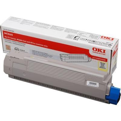 OKI - OKI MC860 44059225 SARI ORJİNAL TONER