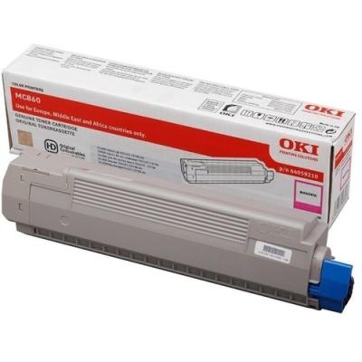 OKI - OKI MC860 44059226 KIRMIZI ORJİNAL TONER