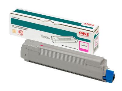 OKI - OKI MC860 44059227 KIRMIZI ORJİNAL TONER