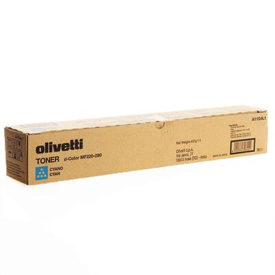 OLIVETTI - Olivetti A11G4L1 D-Color MF220/MF280 Mavi Orjinal Toner
