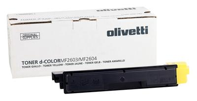 OLIVETTI - Olivetti D-Color MF2603, MF2604, MF2614, P2026 Sarı Orjinal Toner (B0949)