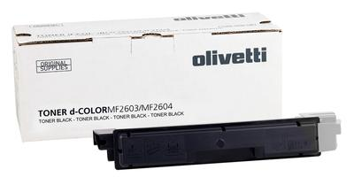 OLIVETTI - Olivetti D-Color MF2603, MF2604, MF2614, P2026 Siyah Orjinal Toner (B0946)