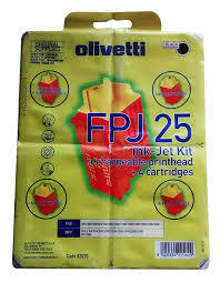 OLIVETTI - Olivetti FPJ25 (82070) Siyah Orjinal Kartuş