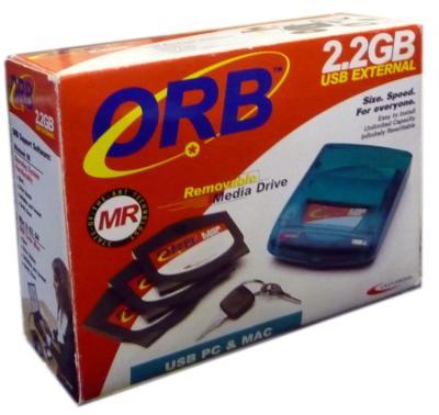 - ORB 2.2 GB External Hard Disc Drive Formatted Disk ( Harici Harddisk Format Disketi)