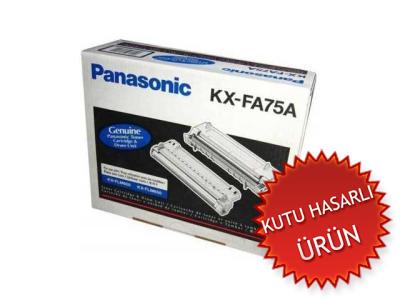 PANASONIC - PANASONIC KX-FA75A TONER + DRUM ÜNİTESİ KX-FLM600, KX-FLM650 (C)