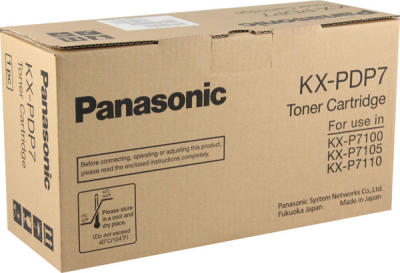 PANASONIC - PANASONIC KX-PDP7 SİYAH RENKLİ ORJİNAL TONER - 7100 / 7105 / 7110 TONER