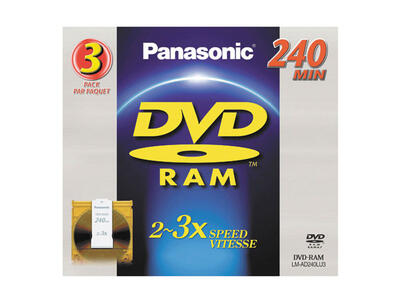 PANASONIC - Panasonic LM-AD240LU3 DVD-RAM