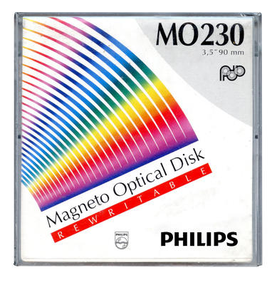 PHILIPS - Philips 230MB Manyetik Optik Disk
