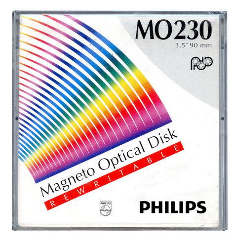 Philips 230MB Manyetik Optik Disk