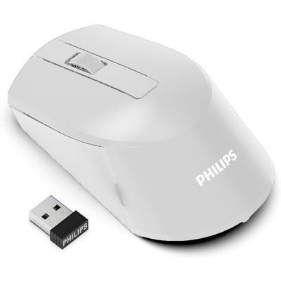 PHILIPS - Philips M374 Beyaz 2.4GHz Kablosuz Mouse (SPK7374/00)