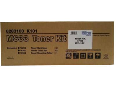 PRINTRONIX - Printronix MS33 8283100 K101 Toner Kit (Toner + Fuser Temizleme Rulosu + Atık Ünitesi)
