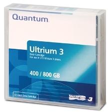 - QUANTUM LTO-3 Ultrium 3 400 GB / 800 GB DATA KARTUŞU 680m, 12.65mm