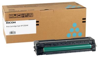RICOH - Ricoh 407717 SP-C252HC Mavi Orjinal Toner SP-C252, SP-C250, SP-C260, SP-C262
