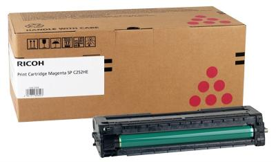 RICOH - Ricoh 407718 SP-C252HM Kırmızı Orjinal Toner SP-C252, SP-C250, SP-C260, SP-C262