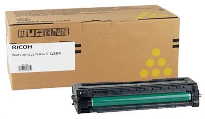 RICOH - Ricoh 407719 SP-C252HY Sarı Orjinal Toner SP-C252, SP-C250, SP-C260, SP-C262
