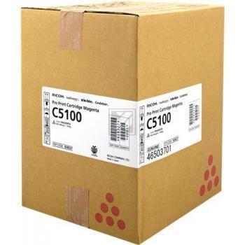 RICOH - Ricoh 828404 Pro C5100, C5110 Kırmızı Orjinal Toner