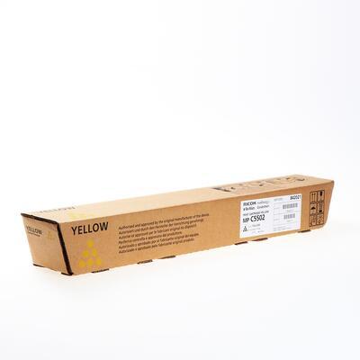RICOH - Ricoh 841756 Sarı Orjinal Toner - MP-C5502 / MP-C4502