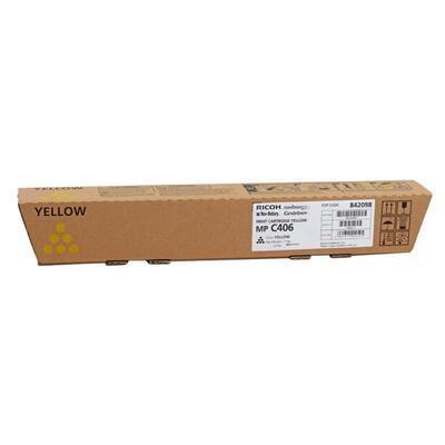 RICOH - Ricoh 842098 MP-C306, MP-C307, MP-C406 Sarı Orjinal Toner