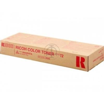 RICOH - RICOH 888485 Type T2 KIRMIZI ORJİNAL TONER 3224C / 3232c / DSC424