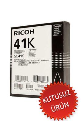 RICOH - Ricoh GC41K 405765 Geljet Siyah Orjinal Kartuş SG2100 / SG3110 (U)