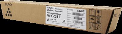 RICOH - Ricoh MP-C2030/C2050/C2530/C2550/C2551 SİYAH ORJİNAL TONER (842061)