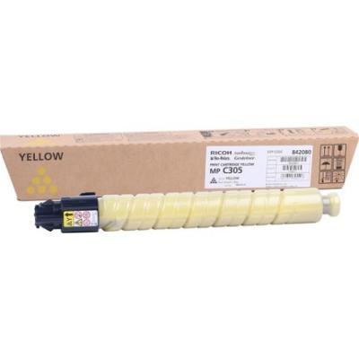 RICOH - RICOH MP-C305 SARI ORJİNAL TONER (841601) MPC305 / MPC306