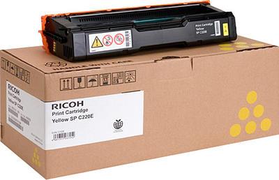 RICOH - Ricoh SP-C220E Sarı Toner SPC 221-222-240 (406147)