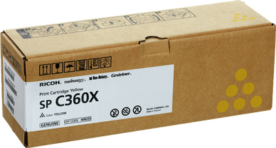 RICOH - Ricoh SP C361X Sarı Orjinal Toner (408253)