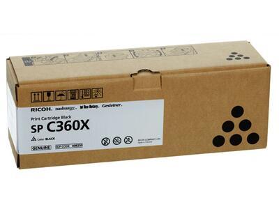 RICOH - Ricoh SP C361X Siyah Orjinal Toner (408250)