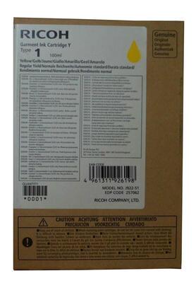 RICOH - Ricoh Type 1 257062 Sarı Orjinal Kartuş - Ri100