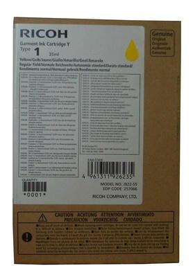 RICOH - Ricoh Type 1 257066 Sarı Orjinal Kartuş - Ri1000